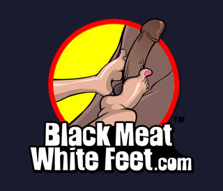 Free BlackMeatWhiteFeet.com username and password when you join BlacksOnCougars.com